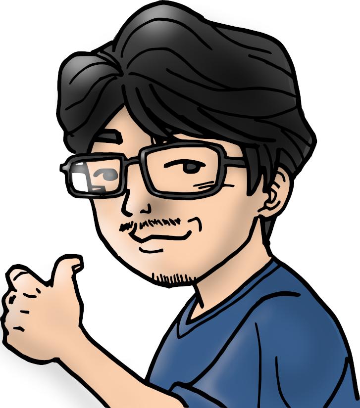 編集長のイラスト